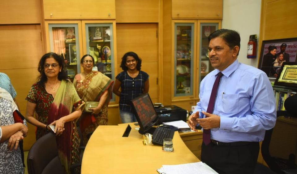 Ruia college principal,Suhas Pednekar,vice-chancellor of Mumbai university