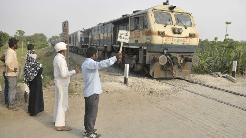 Kushinagar accident,Train,School van