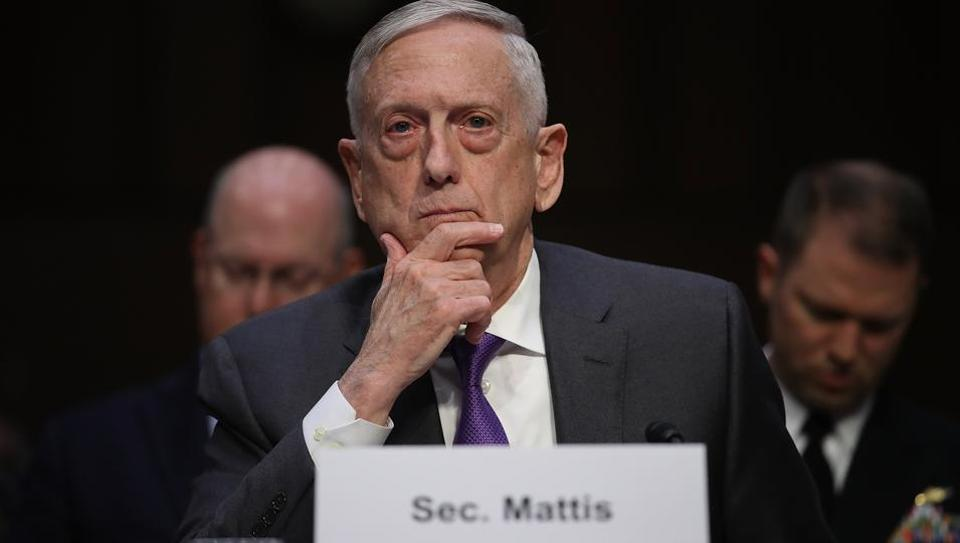 US defence secretary,James Mattis,Russia sanctions