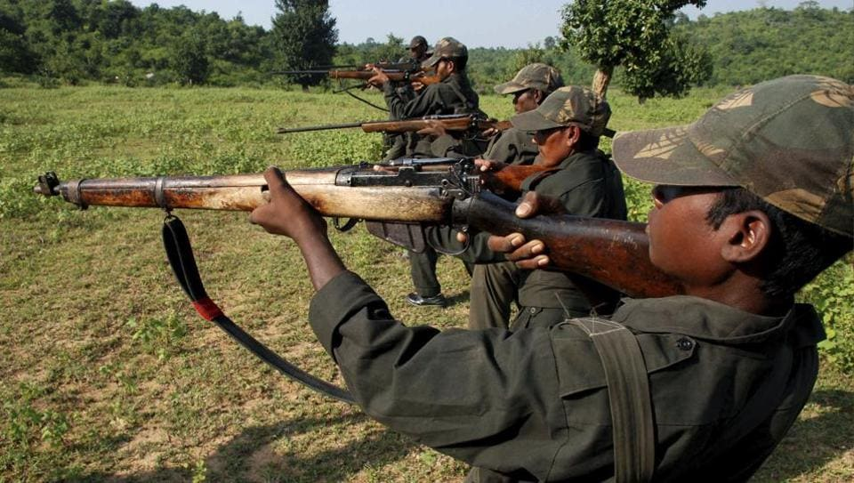 Naxals killed in encounter with security forces in Chhattisgarh's Bijapur