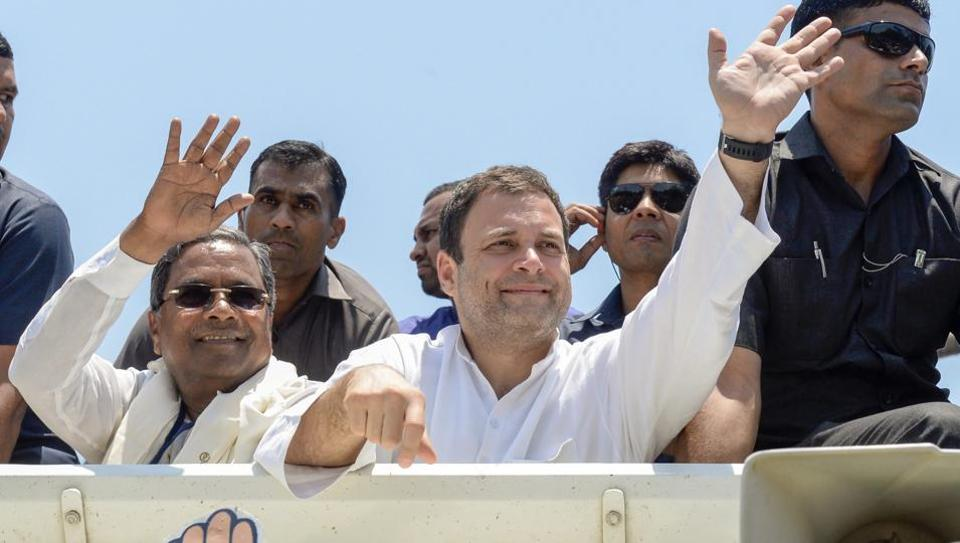 Taking a dig at the BJP, Rahul Gandhi said the saffron party's manifesto would not be for the people of Karnataka and would reflect the views of the RSS.