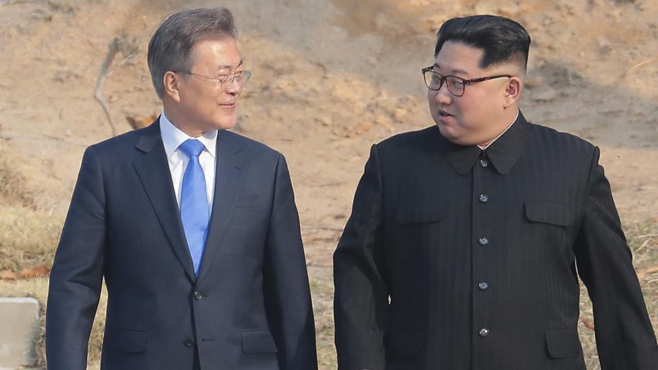 Kim Jong Un,North Korea,Moon Jae-in