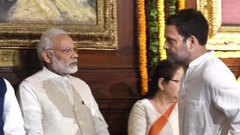 Sources said it was a private conversation between Narendra Modi and Rahul Gandhi over phone.