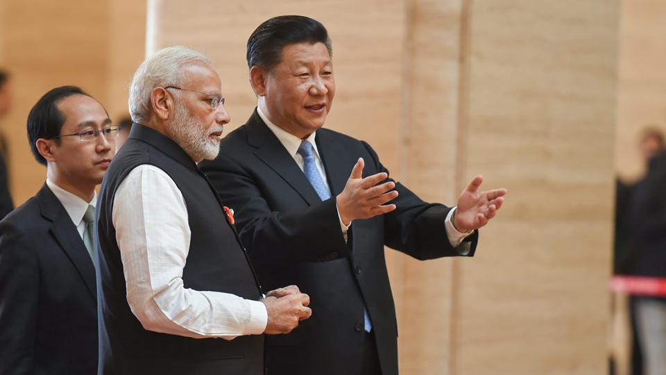 Modi in China,XI jinping,Paintings