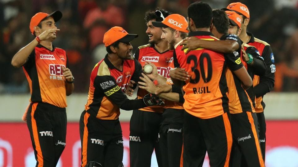 Sunrisers Hyderabad edged out Kings XI Punjab by 13 runs in a low-scoring IPL 2018 clash in Hyderabad on Thursday. (BCCI)
