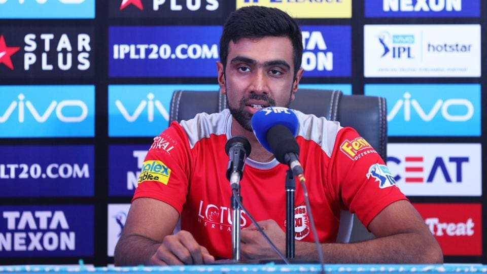 IPL 2018,Indian Premier League,R Ashwin