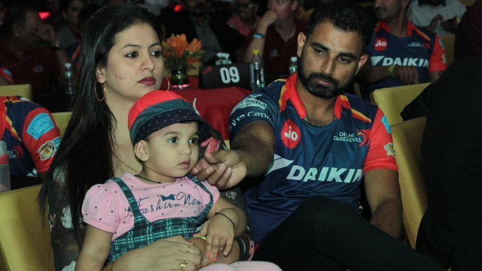 (File Pic) Hasin Jahan, who had earlier accused Shami of adultery, domestic abuse and match-fixing, now claims the Indian cricket team pacer hid his real age and made a fake birth certificate