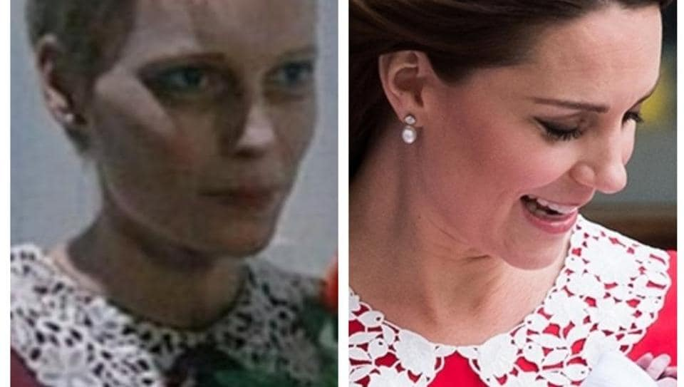 Kate Middleton is being attacked by both the fashion police and the movie police.