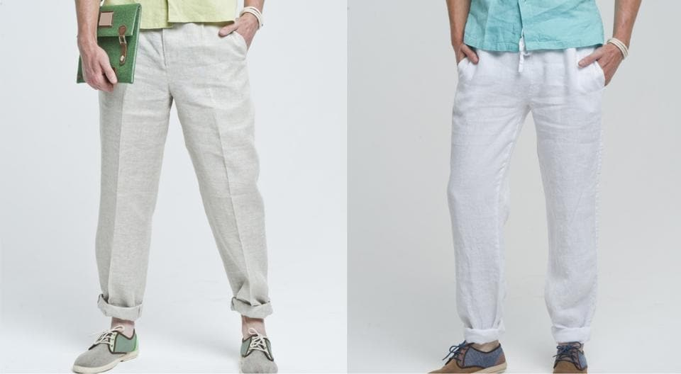 Brave the summer heat in style with added comfort by dressing up in breathable fabrics like linen and chambray.