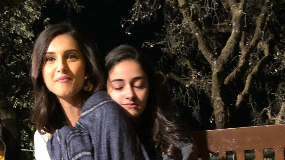Ananya Pandey and Tara Sutaria cannot bear the Dehradun cold without some cuddles.