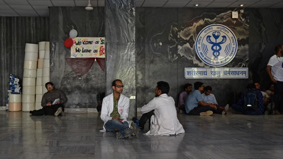 AIIMS doctor strike,AIIMS resident doctors,Resident Doctors Association