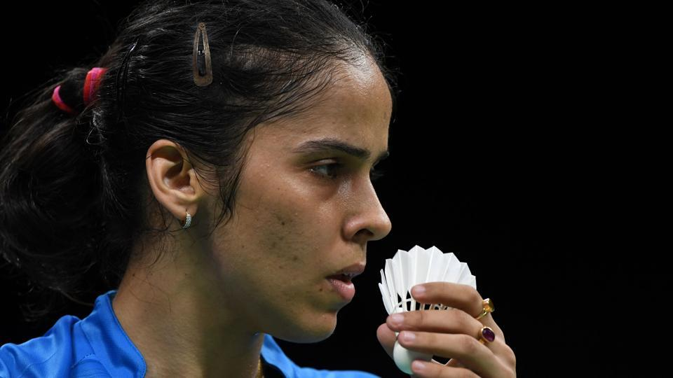 India's Saina Nehwal lost in the women' singles semi-finals at the Badminton Asia Championships in Wuhan on Saturday.