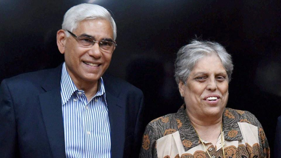 Diana Edulji (R), who is a part of the Supreme Court-appointed Committee of Administrators (CoA), has been recommended by the BCCI for the prestigious CK Nayudu Lifetime Achievement Award.
