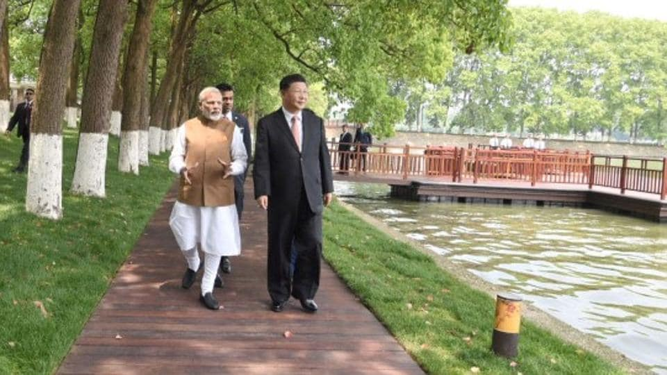 Modi in Wuhan,Modi in China,India China ties