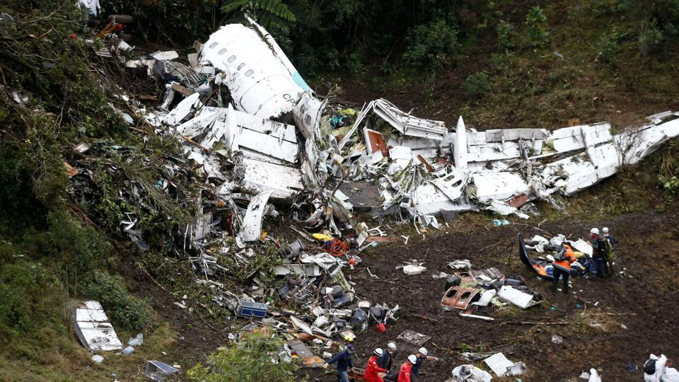 Colombia-Chapecoense Crash, LT