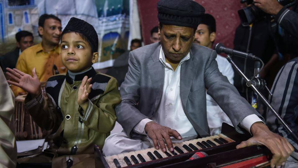 Following the death of Ghulam, Amjad took the helm and slowly carved out his place as Pakistan's most prominent qawwal, becoming a fixture on national television and radio. But now musicians worry that his murder -- and the fear it sparked -- has hastened the decline of qawwali. (Asif Hassan / AFP)
