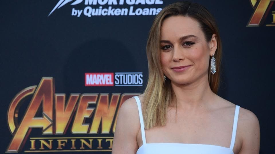 Actor Brie Larson arrives for the World Premiere of the film Avengers: Infinity War in Hollywood.