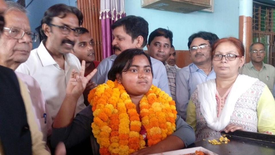 Anjali Verma,UP board Class 10 topper,UP board
