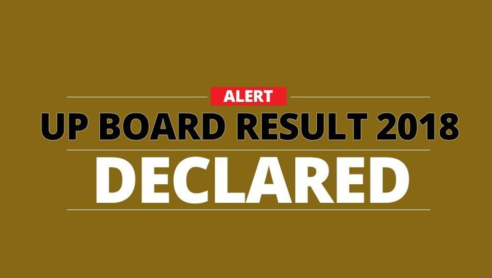 UP board,UP board result 2018,UP board result 2018 date