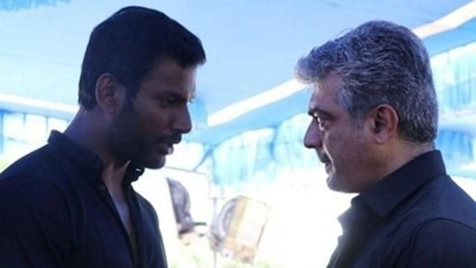 Vishal spoke about  what he hates about Ajith and Vijay.