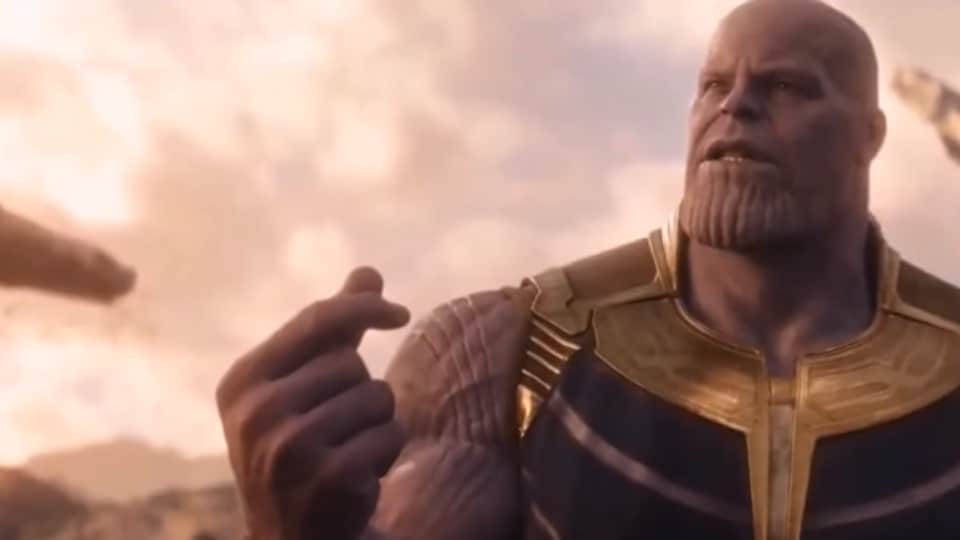 Thanos snaps his fingers in Avengers: Infinity War. It wasn't just a metaphor.
