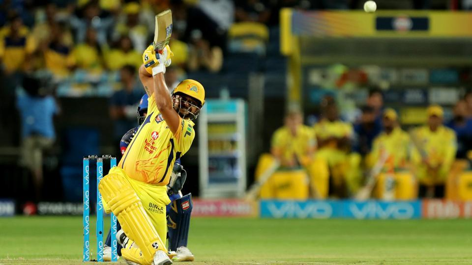 Suresh Raina scored an unbeaten 75 off 47 and helped Chennai Super Kings speed up their innings. (BCCI)