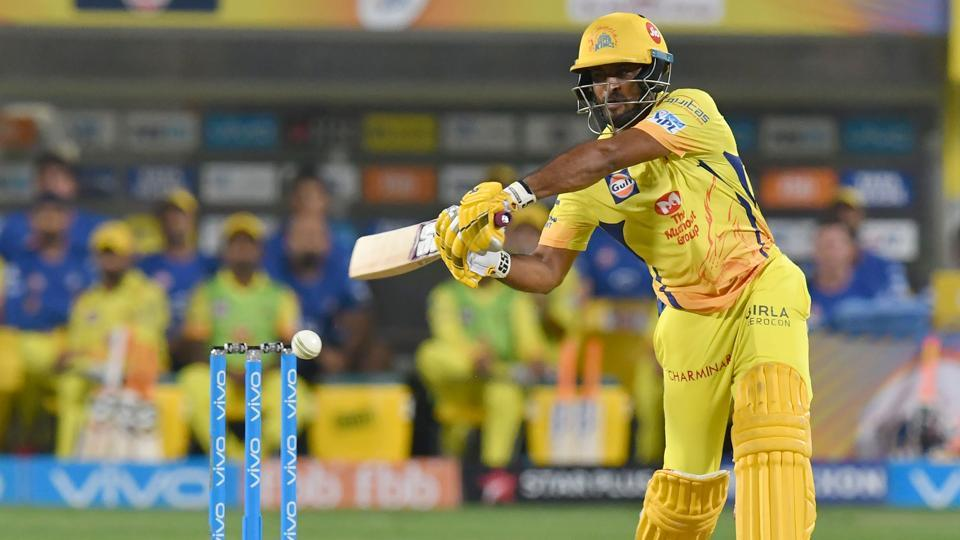 Chennai Super Kings opener Ambati Rayudu has scored 329 runs in seven games so far in the 2018 Indian Premier League (IPL).