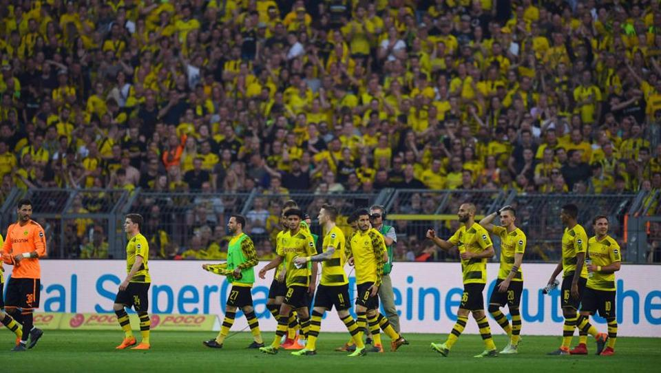 Why The Yellow Wall Is A Mesmerising Sight In World Football Football Hindustan Times