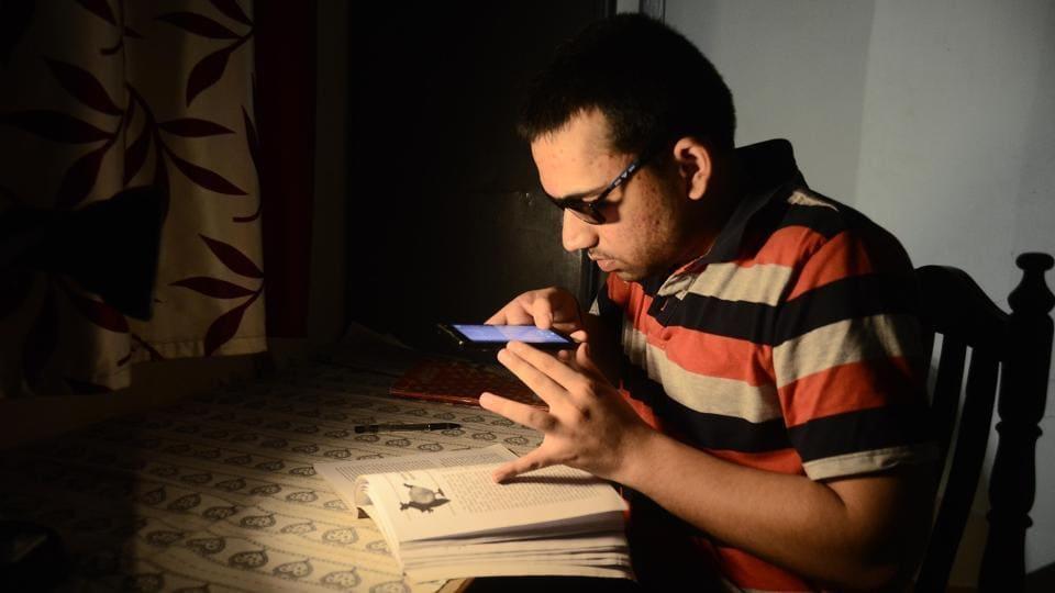 Visually impaired,UPSC,Beed