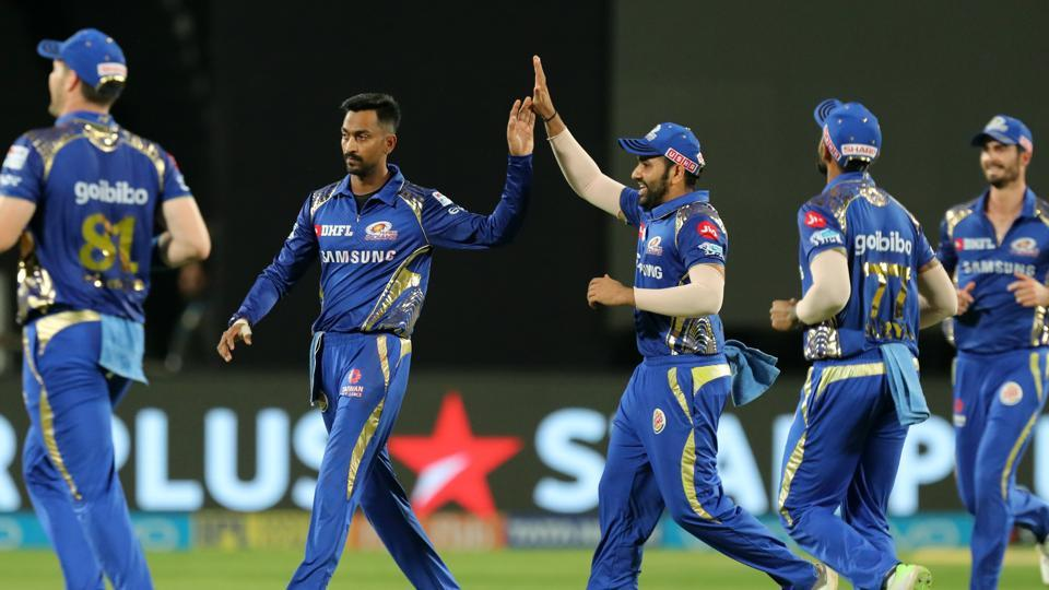 Krunal Pandya and other MI bowlers conceded runs economically to restrict them to 169/5. (BCCI)