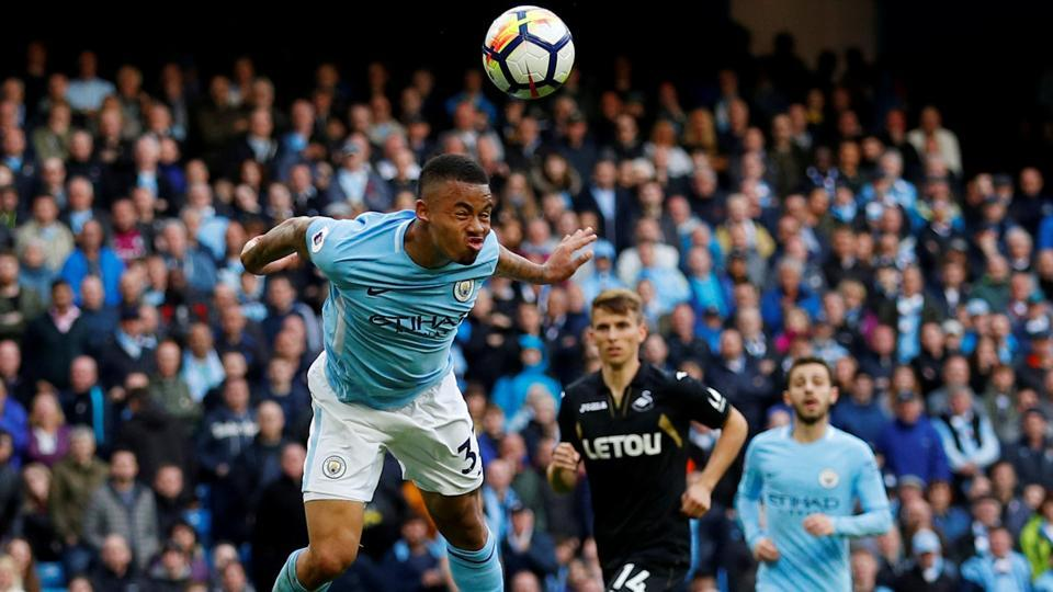Gabriel Jesus,Manchester City,Premier League