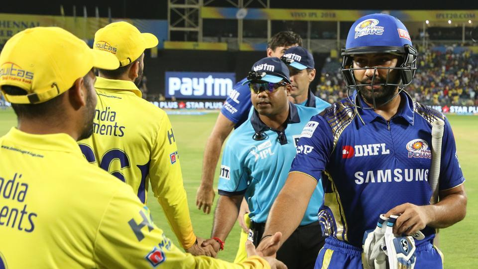 Mumbai Indians defeated Chennai Super Kings by eight wickets in an IPL 2018 match on Saturday. (BCCI)