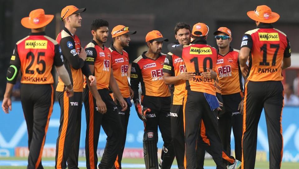 Live cricket score,Rajasthan Royals vs Sunrisers Hyderabad,IPL 2018
