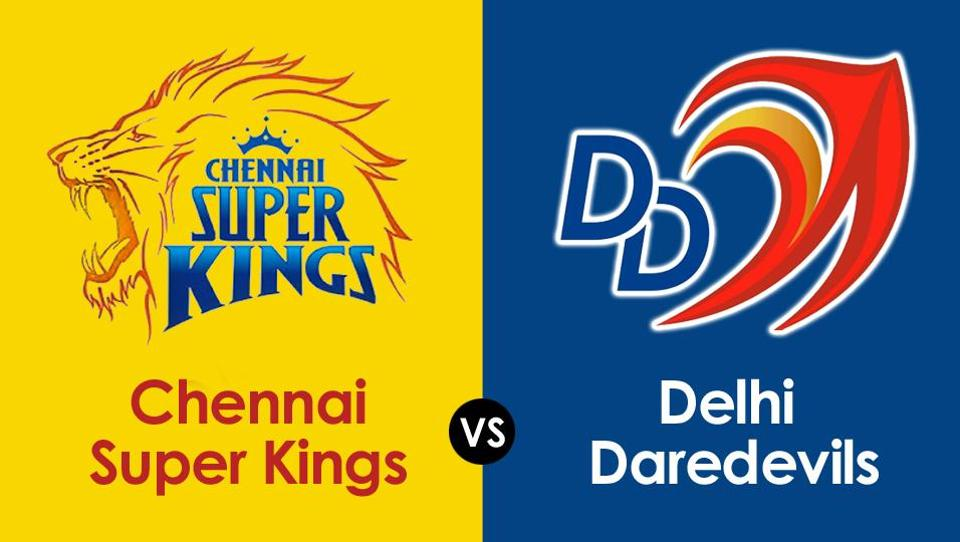 MS Dhoni-led Chennai Super Kings beat Delhi Daredevils in their Indian Premier League (IPL) 2018 match on Monday. Get full cricket score of Chennai Super Kings vs Delhi Daredevils (CSK vs DD), Indian Premier League (IPL) 2018.