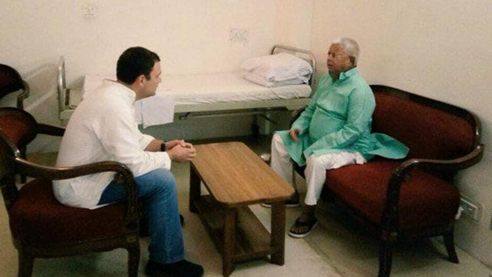 Rahul Gandhi,Lalu Prasad,Congress