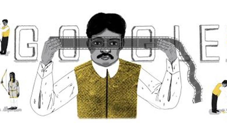 Google celebrates Dadasaheb Phalke, India's pioneering film-maker, with a doodle