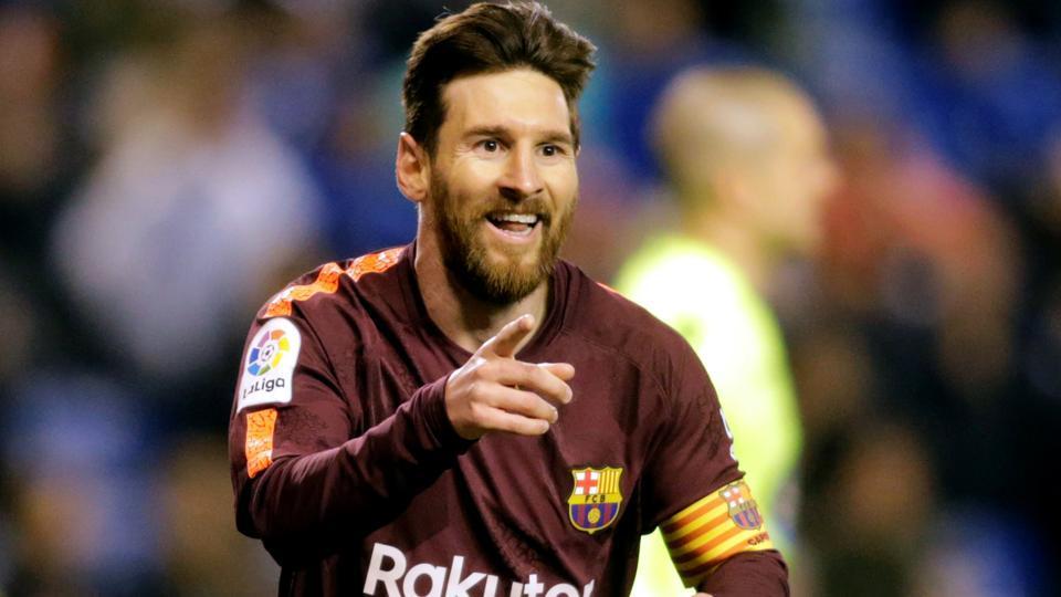 FC Barcelona,Lionel Messi,Deportivo La Coruna