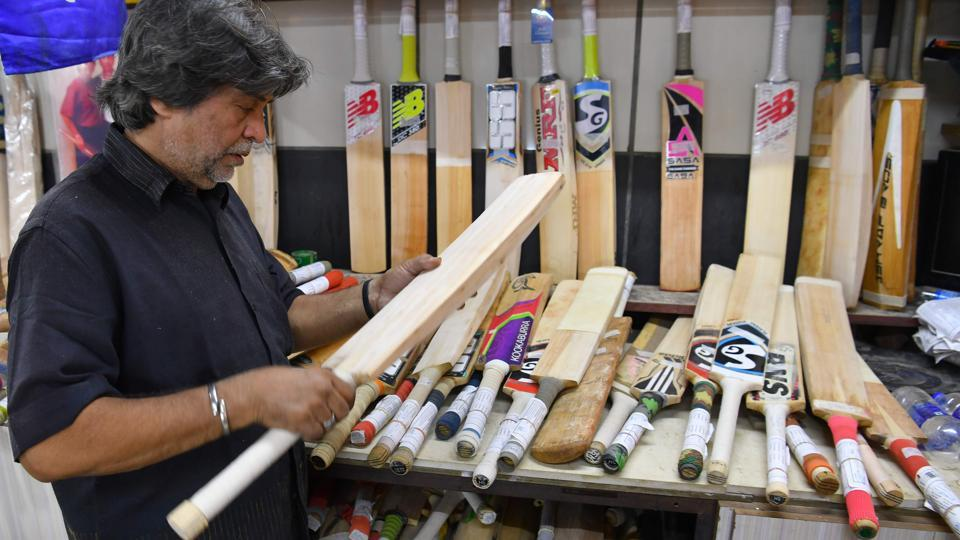 Aslam Chaudhry is the owner of M. Ashraf Bros a bat-manufacturing shop set up in late 1920s.