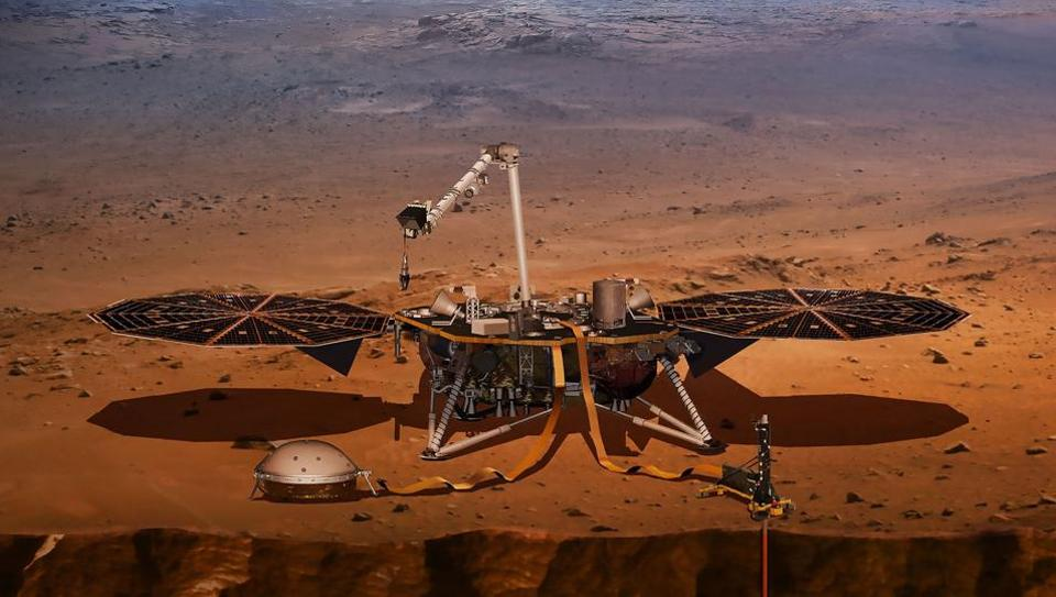 NASA's Interior Exploration using InSight to be used on NASA's next mission to Mars scheduled to launch Saturday.