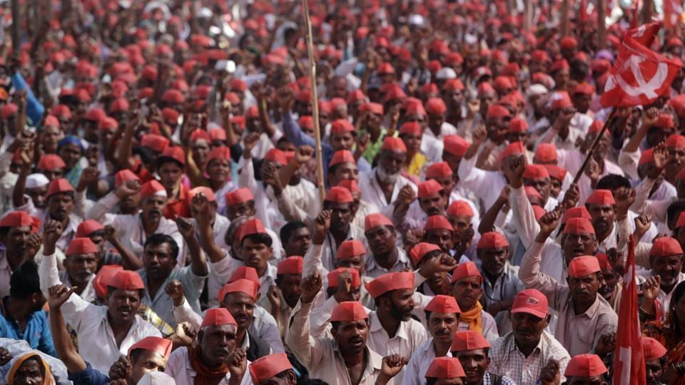 Farmer Protest,Maharashtra Long March,Kisan Sabha