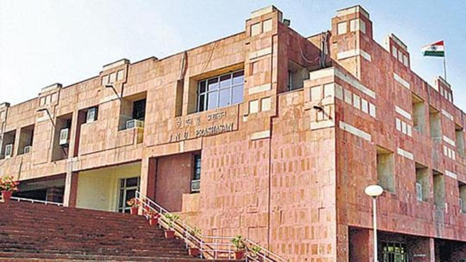 The screening of a film on the contentious issue of 'love jihad' at Jawaharlal Nehru University in Delhi was disrupted by a few student groups.