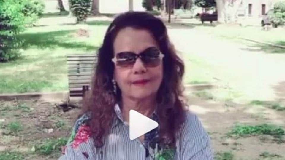 Yesteryear actress Mumtaz tells fans she's hale and hearty in this video
