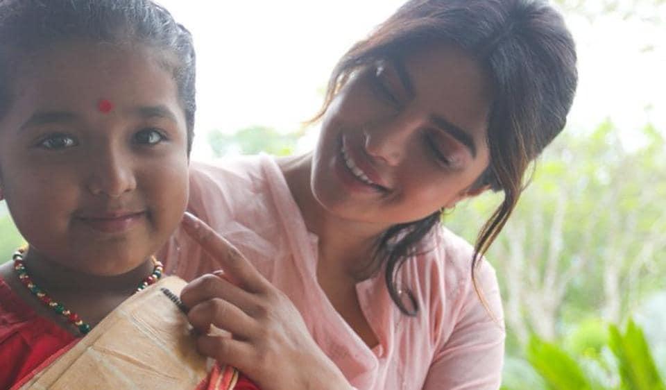 Priyanka Chopra,Mekhela Chador,Quantico