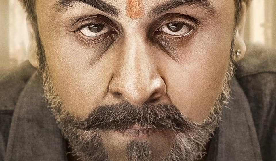 A new Sanju poster was revealed on Monday morning with Ranbir Kapoor bringing Sanjay Dutt alive on screen.