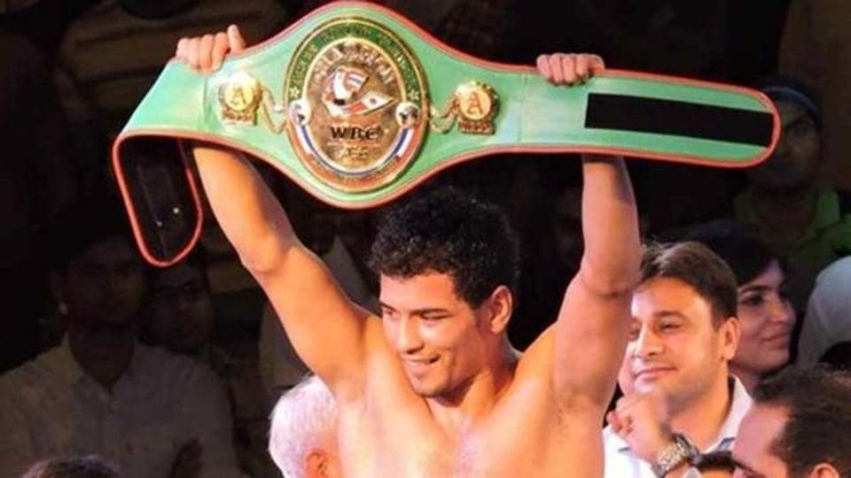 Neeraj Goyat is the current WBC Asia champion in welter weight category.