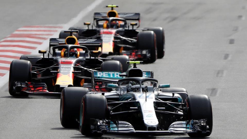 Lewis Hamilton won his first race of the Formula One season at the Azerbaijan Grand Prix.