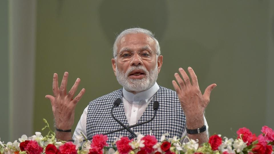 PM Narendra Modi criticised Congress leader and Karnataka chief minister Siddaramaiah for fighting elections from two seats and his son from another.