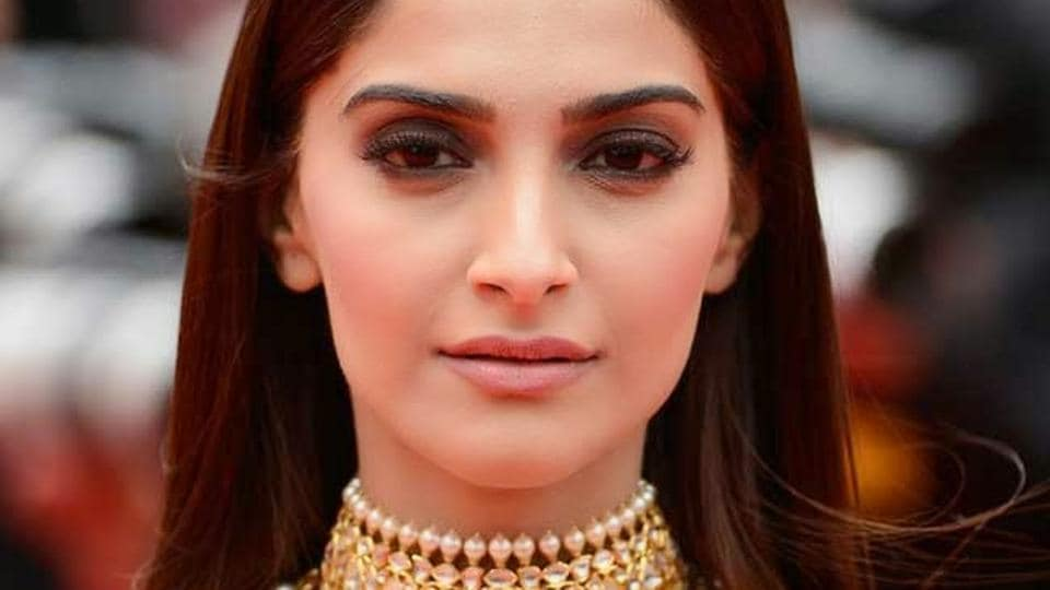 When Sonam Kapoor is not wearing her extensive designer wardrobe, the Veere Di Wedding actor is often seen in Bhane, Anand Ahuja's clothing line. Pictures below. (AP File Photo)