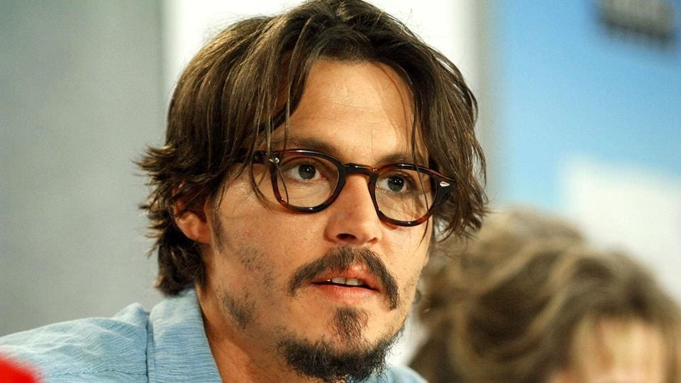 Johnny Depp at the press conference for the Corpse Bride, at the Toronto International Film Festival.