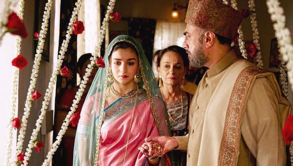 Alia Bhatt plays an Indian spy in Pakistan in Raazi.